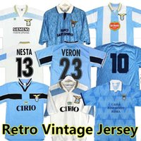Lazio Nedved Retro Futbol Formaları 1989 1990 1991 1992 1999 2000 2001 2014 Simeone Salas Gascoigne Home Away Futbol Gömlek Veron Crespo Nesta 89 90 91 92 Vintage Jersey