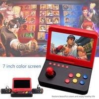 휴대용 게임 플레이어 AIWO G1000 7 인치 아케이드 DDR3 256MB 3000 고전적인 손잡이를위한 레트로 기계