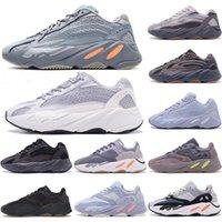 2021 Top Quality 700 V2 Kanye Scarpe da uomo Donne Inertia Riflettente Teephra Grey Utility Black Vanta Sneakers Sport EUR 36-46