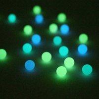 Mini 6mm 8mm de quartz Terp Perle lumineuse lumineuse couleur fumante Perles de perles à billes pour 10 mm 14mm 18mm de quartzbanger ongles de quartzbanger en verre Bongs bitumineux