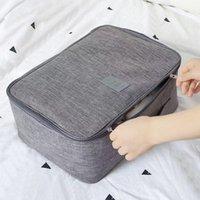 Storage Bags Portable Travel Bag Clothes Shoes Underware Organizer Wardrobe Outdoor Suitcase Luggage Large Capacity