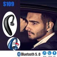 S109 TWS Wireless 5.0 Bluetooth earphones Handsfree HIFI Earloop headset Finess Running Drive Call Sports Headphone With Mic For all smartphone