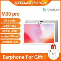 Tablet PC Teclast M30 Pro Android 10 10.1 Inch IPS 1920x1200 4G Call Network 4GB RAM 128GB ROM Dual Wifi GPS Intelligent Sensors