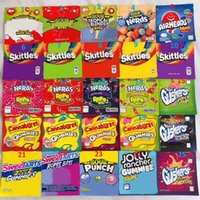 Warheads Yaşam Koruyucular Sweetarts ZKittlez Çanta Yeni Skittles Errlli Cannavurst Stoneo Medibles Cheetos Edibles Gummies Paket Çanta
