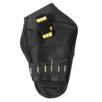 Storage Bags Heavy-duty Drill Holster Tool Belt Pouch Bit Holder Hanging Waist Bag GRSA889