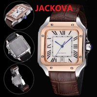 Mens Mechanical SS Automatic 2813 Movement Watches DAYDATE President square roman dial designer rose gold Watch man Sapphire Self-wind Wristwatches Gift