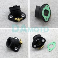 Motorcycle Fuel System Carburetor Connector Adapter Carb Air Intake Manifold Pipe Inlet For PIAGGIO 125 150 RAI125 Typhoon ZONGSHEN 12