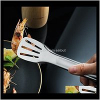 Cooking Utensils Tools Kitchen, Dining Bar Home & Garden 304 Bbq Lock Design Clip Clamp Stainless Steel Food Tongs Barbecue Kitchen Toolst2I
