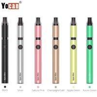 Authentic YoCan Apex Mini cera Pen da penna kit E-sigaretta 380mAh batteria vaporizzatore vaporizzatore riscaldamento 510 scatola filettatura Mod Moil QDC con kit di ricarica micro USB 100% genuino