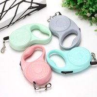 Dog Leashes Nylon Adjustable Automatic Retractable Extendable For Dogs Puppy Pet Walking Accessories PI669 Collars &