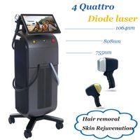 Diodenlaser Haarentfernung Professionelle Maschine Alma 755NM 808nm 1064nm Diode Lazer Schnelle Entspannungsbehandlung Haut Verjüngung Schmerzlos