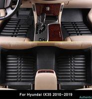 3D Car Floor mat For Hyundai ix35 (2010-2019) 2011-12-13-14-2018 Custom-made Auto Internail Car Foot mat Car Styling Protector