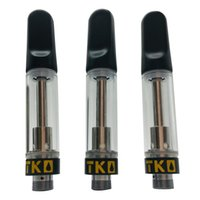 TKO Vapes Cartridges EXTRACTS carts package for thick oil packaging vape Vaporizer leakproof 0.8 and 1.0ml ceramic coil Atomizer