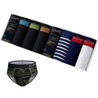 Underpants 8PCS Men Print Men's Briefs Brand Cotton Panties For Man Underwear Thongs Lots Family Undrewear Male Bikini Sexy