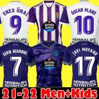 21 22 Real Valladolid Soccer Jerseys Fede S. Sergi Guardiola óscar Plano Camisetas de Fútbol 2021 2022 m.salisu الرجال الاطفال كيت قمصان كرة القدم
