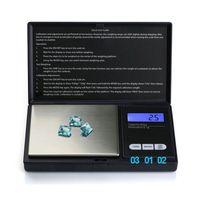 100/300 / 500g LCD portable mini balance numérique électronique cas cuisine bijoux de bijoux balance balance gramme échelle électronique