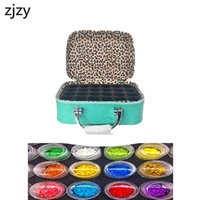 New Diamond Painting Accessories Cross Stitch Tool Box Container Diamond Storage Bag 5D Embroidery Mosaic Rhinestones Tools T200117