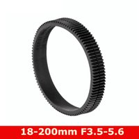 Lens Adapters & Mounts 18-200 3.5-5.6 Seamless Follow Focus Gear Ring For EF-S 18-200mm F 3.5-5.6 IS Part