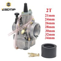 24 26 28 30 32 34mm 2T PWK Carburetor For Off-road Motocross Scooter ATV UTV YZ85 CR85 TZR250 AX100 GT750 NSR250R Motorcycle Fuel System