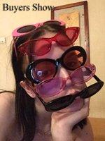 النظارات الشمسية المرأة إطار صغير أزياء uv400 ظهور نظارات القط العين سهلة لتسلق الأسماك