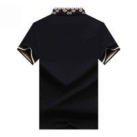 Camisa casual masculina de moda novo camisa formal luxo moda masculina camisa casual dourado floral algodão seda vestuário slim