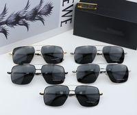 Lunettes de soleil GA Lentilles carrées de haute qualité Verres de mode polarisée Hommes 5 styles