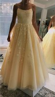 Yellow Sleeveless Bridesmaid Dress A Line Spaghetti Straps Spring Summer Garden Wedding Guest Maid of Honor Gown Tailor Made Plus Size Available