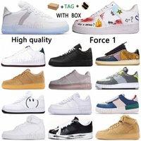 2021 Homens Mulheres Correndo Sapatos Vendas Vintage Skate Sneakers 1 Tipo N.354 Cactus Jack Ts Forças Reagir QS Bone Luz Preto Branco Marrom Flaxsgtn #