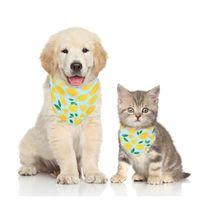 Dog Applyel Pet Ribs Scarf для маленького среднего галстуки щенок ошейник кошка треугольные банданы бантики галстуки аксессуары для груминга