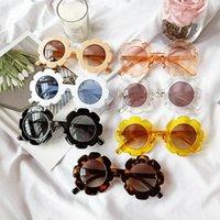 7 أنماط الأطفال عباد الشمس النظارات الشمسية الاطفال sunblock أزياء الطفل لطيف نظارات الشمس الفتيان والفتيات النظارات LLA667