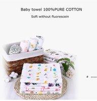 الرضع الشاش قماط بطانية الجلباب القطن الصيف حمام منشفة الوليد يلتف الحضانة الفراش الطفل قوانين لحاف 39 ألوان FWC7498