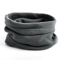 Scarves 2 Pieces Mens Ladies Snood Chunky Knitted Winter Soft Neck Warmer Ski Scarf