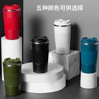 Água portátil Silicone de aço inoxidável café isolado carro de água carregando portátil Presente de negócios