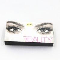 HOT 3D H DA FALSO EYELASHES EXTENSIONES Hecho a mano pestañas voluminosas para maquillaje de ojos Kyli Cosmetics