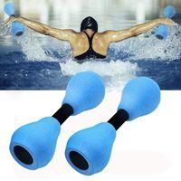 Pool & Accessories 2021 Aquatic Exercise Dumbells Adults EVA Fitness Equipment For Yoga Home Use Swimming Pools Spas Dumbbells