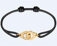 bracelet France Famous Jewelry Dinh Van Bracelet For Women Fashion 925 Sterling Silver Rope Handcuff Menottes slave bracelets