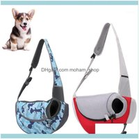 Car Seat Ers Supplies Home & Garden Pet Dog Carrier Outdoor Handbag Pouch Mesh Oxford Single Sling Comfort Travel Tote Shoulder Bag Dcba221