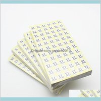 Adhesive Stickers Tapes & Stickers Office School Supplies Business Industrial 4620Pcs Lot 15Mm Xs-6Xl Paper Size Label Sticker For Gar