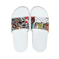 2021 Summer Beach Pantofole Benassi JDI Mismatch Interno Piatto piatto G Sandali Sandali Casa Casa Flip Flop Stike Sandalo con scatola 36-45