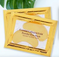 Crystal Collagen Gold Powder Eye Facial Mask Moisturizing Make up Anti-aging Face Skin Care FREE FAST
