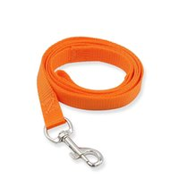 Candy color Dog Leashes hook Nylon walk dogs Training Leash pet Supplies RH3957