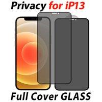 anti-spy privacy Full Cover Tempered Glass protector for iPhone 13 12 mini 11 PRO MAX XR XS SE 6 7 8 Plus Samsung A12 A22 A32 A42 A52 A72 5G Anti-Scratch Anti-peeping Film