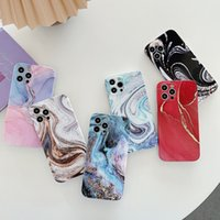 Pink Marble Phone Cases With Lens Protector For iPhone 7 Plus 8 SE2020 12 12pro 11 Pro Max X XS XR