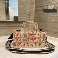 Totes Shopping Bags 21SS Summer New Flower Animal Stripe Pri...