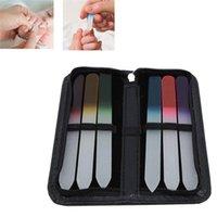 Nail Art Kits 6PCS Set DIY Tools Kit Sanding Files Buffer Block Salon Manicure Pedicure
