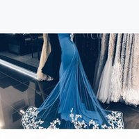 Saudi Dubai Celebrity Prom Dress Simple Strapless Bow Lace Applique Mermaid Prom Dresses Sexy Backless Party Dress Cheap Long Evening Gown