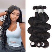 3 Bundles Body Wave Brazilian Peruvian Malaysian Human Hair Weaves Weft 100% Unprocessed Remy Virgin Raw Same Direction Cuticle