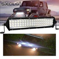 12Inch LED-Lichtstangen-Spot-Flut-Combo Autofahrarbeit Lampe 12V 24V 264W 6000K für LKW 4x4 Zubehör Off Road ATV-Arbeiten