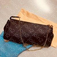 إيفا مخلب، جودة عالية إمرأة الأزياء الصليب الجسم حقيبة مساء سلسلة محفظة حقيبة يد الكلاسيكية البني للماء الجلود ث / كيس الغبار N55231