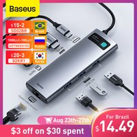 USB C Type C to HDMI-compatible 3.0 Adapter 8 in 1 Type HUB Dock for MacBook Pro Air Splitter
